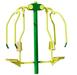 Outdoor fitness euquipment-Elliptical Trainer, leg press, chest press