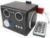 Promotion speaker, X-mini speaker, Portable speaker, Hambruger speaker