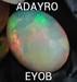 Ethiopia best wollo fire raw opal