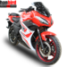 Hanbird Sports Electric Racing Motorcycle with 5000w Hub Motor