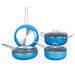 Aluminum non-stick pot set, cookware set, pan, frying pan, saucepan, s