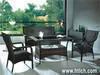 PE rattan furniture, outdoor furniture, dining room furniture