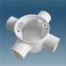 PVC conduit Fitting (circle box)
