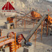 Production line of stone crusher with 50T/H to 500T/H