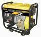 Portable gasoline and diesel generator