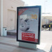 Aluminium Dynamic Shopping Mall Advertising Lightbox