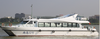 27m fiberglass catamaran passenger ferry boat ship, checking on site