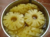 Fresh pineapples, Cayenne pineapples