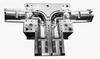 Cross junction pipe fitting mould