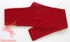 Winter warm red solid 100% wool trousers/long johns/pants for woman, la
