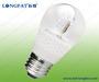E27 P45 LED Candle Bulb Light with Transparent (Ceramics)