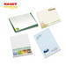 Printed sticky notes, self-adhesive notes, note pads, memo pads