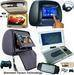 Universal Headrest and Flip Down Car DVD Player with Games