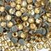 Light topaz hot fix flat back glass rhinestones