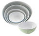 100% MELAMINE EGG SHAPE BOWL SET
