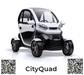 3000W Power Adult Mini Electric Car 4 Wheel