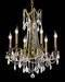 Traditional Big Crystal Chandelier
