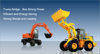 Vehicles, trucks and parts, machineries, tools, etc.