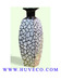 Lacquer Vase with Eggshell