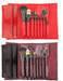 OEM/Wholesale Professional 8 Piece Makeup Brush Set 5 Colors