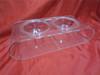 Acrylic pet bowls