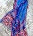 Hand painted silk shawls scarves