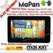 7inch Samgsung CPU capacitive Five points touchscreen cortex a8 tablet
