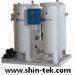 Oxygen generator with cylinder filling station
