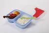 Silicone folding lunch box