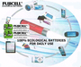 Direct Chargeable Ecological Lithium Batteries For Daily Use