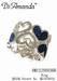 Denim silver jewelry