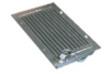 Air oil cooler radiator for excavator