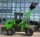 1ton 2ton 3ton 4 wheel drive front end wheel loader made in China