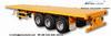 Skeleton trailer, low bed trailer, flatbed semi-trailer, dump trailer