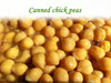 Canned Chickpeas/Canned Food/Tinned Food