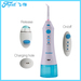 Portable dental water flosser for traveling