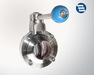 DIN SMS IDF RJT 3A DS Sanitary Stainless Steel Butterfly Valves