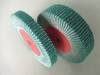 Flap wheels, flap rollers, flap brushes
