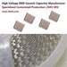 MLCC capacitor 100NF X7R 630V 1812 multilayer ceramic capacitor