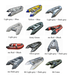 Inflatable Sport Boats Cataraft Aluminum Floor Catamaran Double Hull F