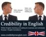 Credibility in English