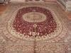 China silk carpet