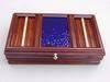 Solid 14 Karat Gold Banded Cancharana Jewelry Box