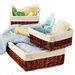 Willow baskets, wicker baskets, storage baskets, picnic basket set