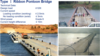 Bailey bridge/floating pontoon bridge/steel bridge/pontoon ferry