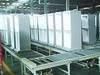 Refrigerator assembly line from the beginning to the end including M/C
