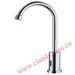 Hygienic automatic sensor faucet