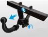 Detachable tow bar hitch