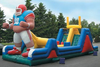 Inflatable star, holiday inflatable, jumping castle, Christmas decoration
