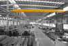Overhead crane used for warehouse